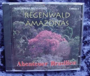 Nature documentary: Amazon rainforest - CD.
