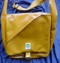 Messenger bag Sand color - Not only for the bike