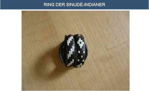 Ring der Sinudé-Indianer