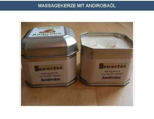 Massage candle with Andiroba oil