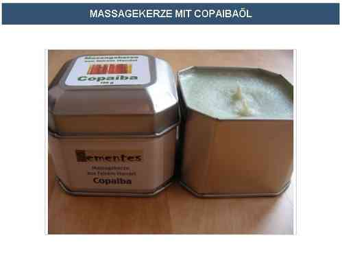 Massage candle with Copaiba oil