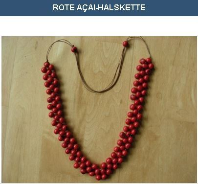 Red Acai Necklace