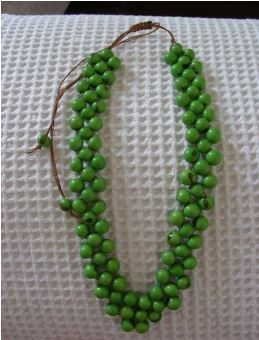 Green Acai Necklace